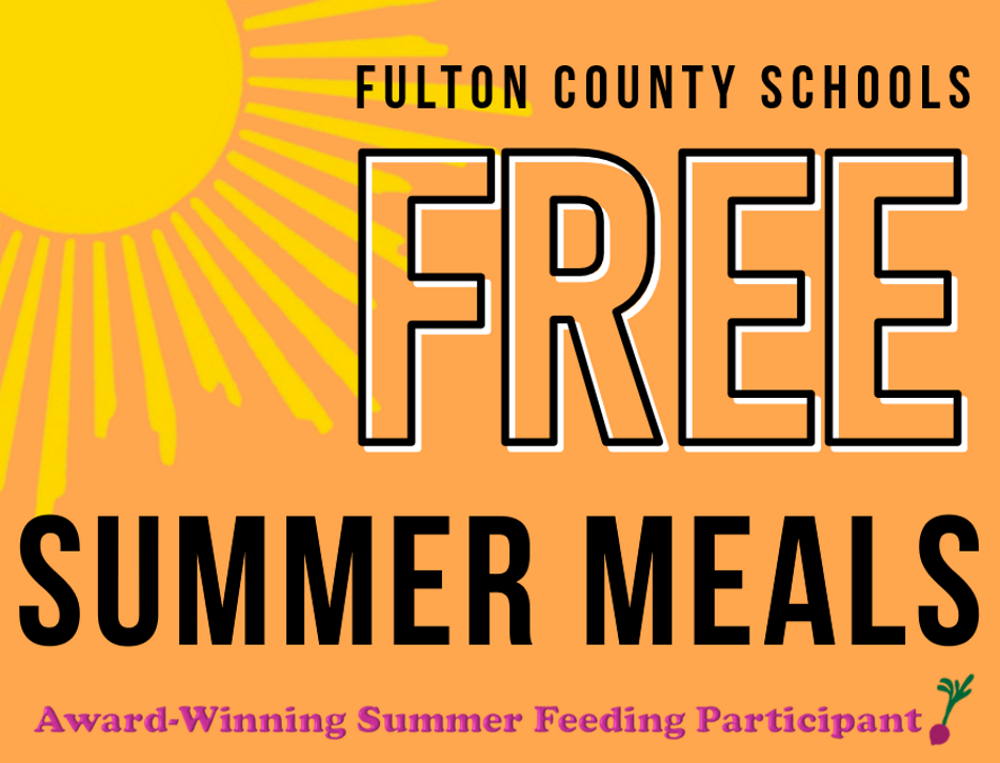 Fulton County Schools Free Summer Meals