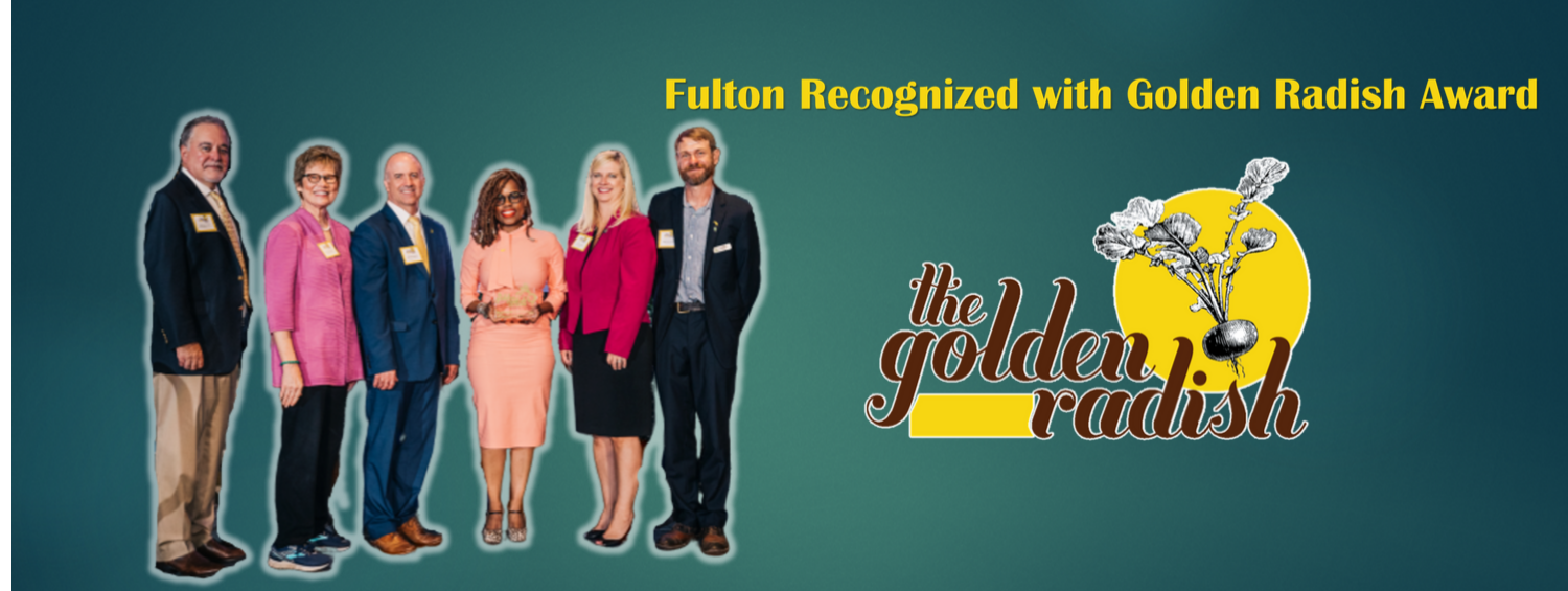 Fulton County School Nutrition Recognized with Golden Radish Award